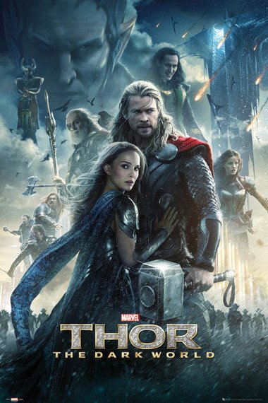 plakat THOR - THE DARK WORLD