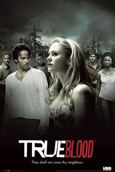 plakat TRUE BLOOD - MONTAGE