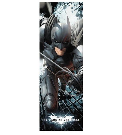 plakat na drzwi BATMAN - THE DAR KNIGHT RISES