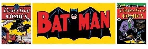 plakat panoramiczny BATMAN - TRIPTYCH