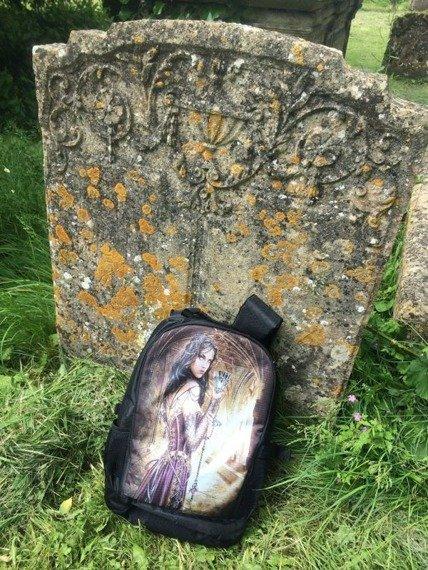 plecak ALCHEMY GOTHIC NAME OF THE ROSE