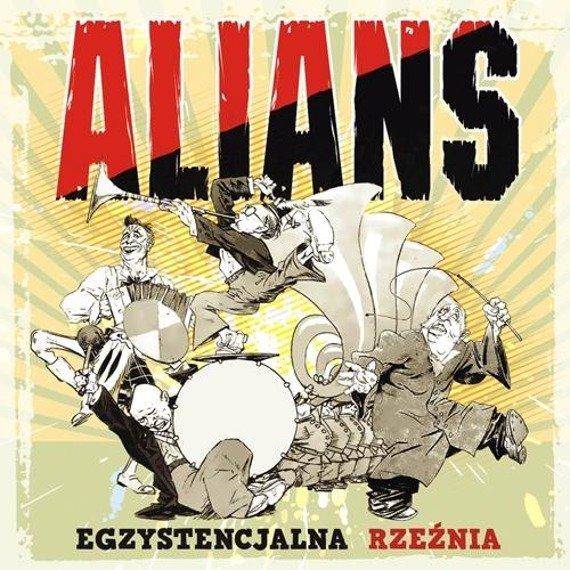 płyta CD: ALIANS - EGZYSTENCJALNA RZEŹNIA (LP)