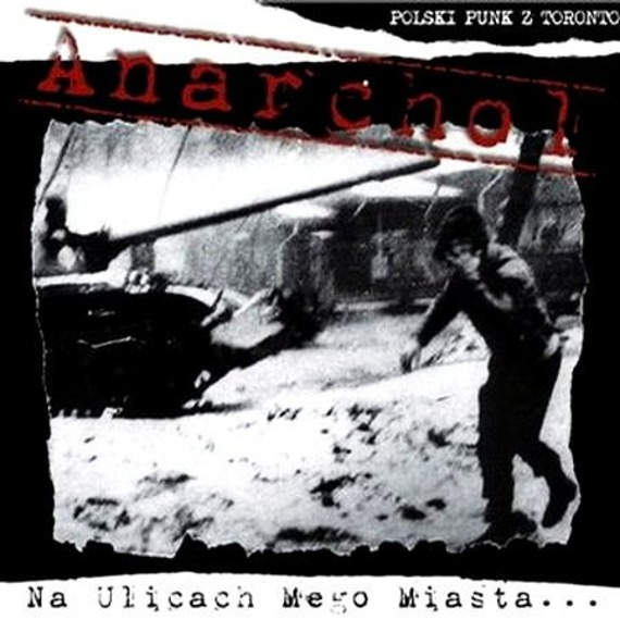 płyta CD: ANARCHOL - NA ULICACH MEGO MIASTA