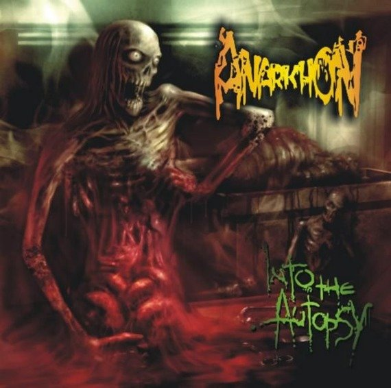 płyta CD: ANARKHON - INTO THE AUTOPSY