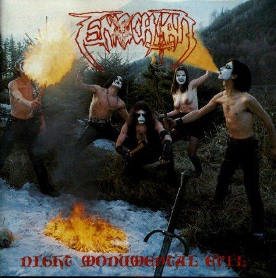płyta CD: ENOCHIAN - NIGHT MONUMENTAL EVIL