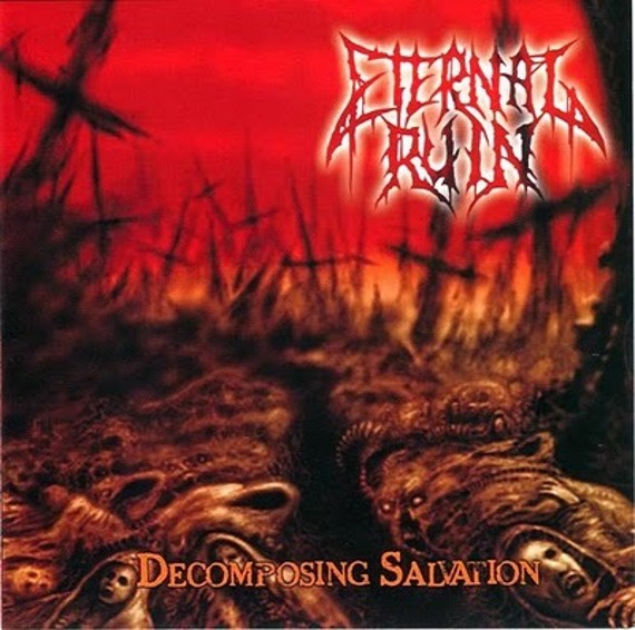płyta CD: ETERNAL RUIN - DECOMPOSING SALVATION