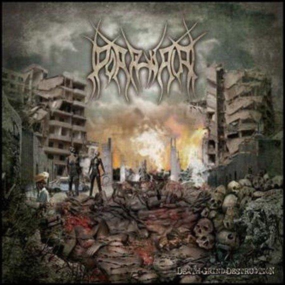płyta CD: PORPHYRIA - DEATH GRIND DESTRUCTION
