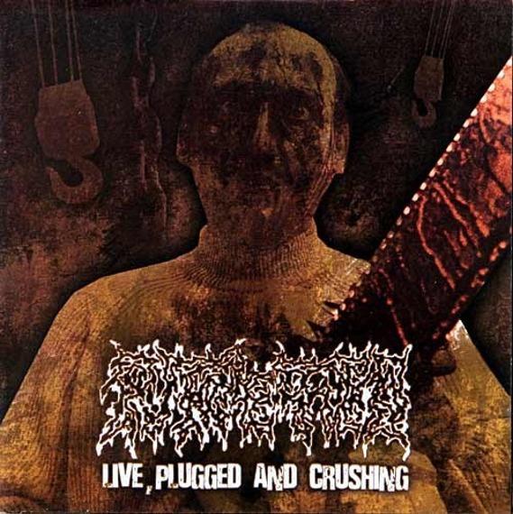 płyta CD: PUTREFIED - LIVE PLUGGED AND CRUSHING