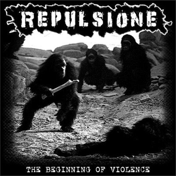 płyta CD: REPULSIONE - THE BEGINNING OF VIOLENCE