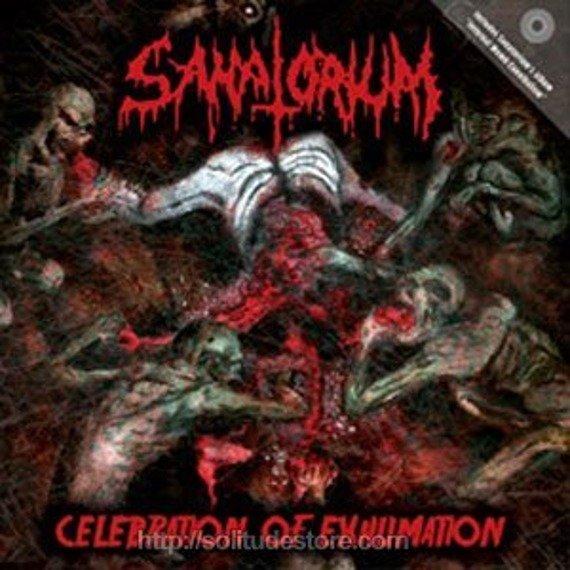 płyta CD: SANATORIUM - CELEBRATION OF EXHUMATION + INTERNAL WOMB CANNIBALISM