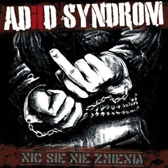 płyta winylowa ADHD SYNDROM - NIC SIĘ NIE ZMIENIA czarny winyl