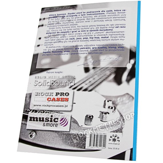 podręcznik GITARA BASOWA SZYBKI START + DVD autor: Phelippe Bassatti