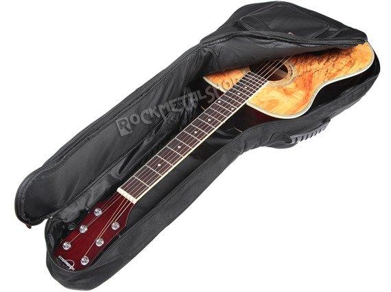 pokrowiec do gitary akustycznej CRAFTMAN 7 kieszeni, ocieplany