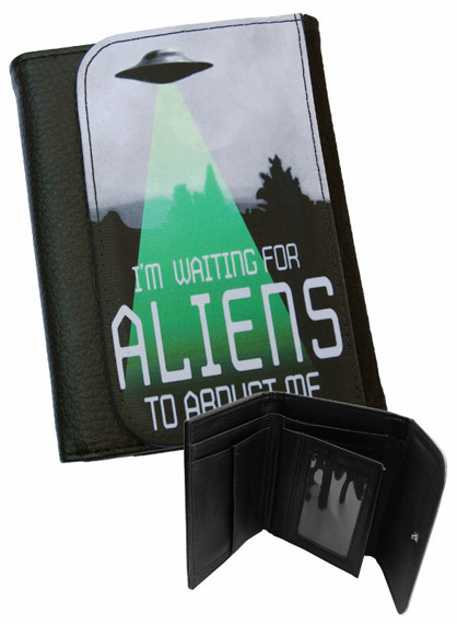 portfel DARKSIDE - I'M WAITING FOR ALIENS TO ABDUCT ME
