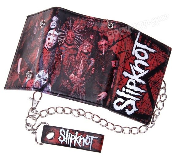 portfel SLIPKNOT - SCRATCHED GROUP