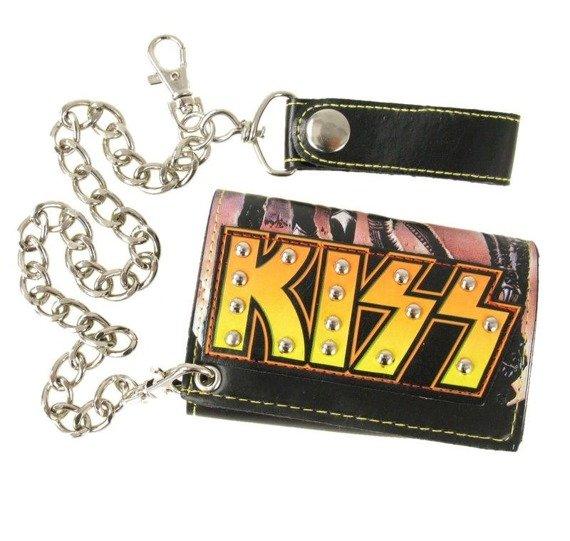 portfel skórzany KISS