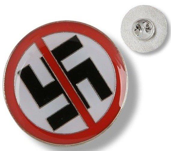 przypinka STOP NAZI