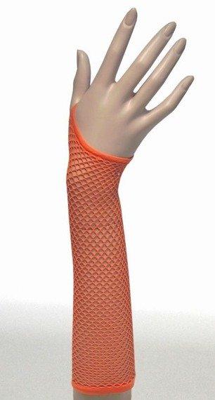 rękawiczki FISHNET kolor pomarańczowy
