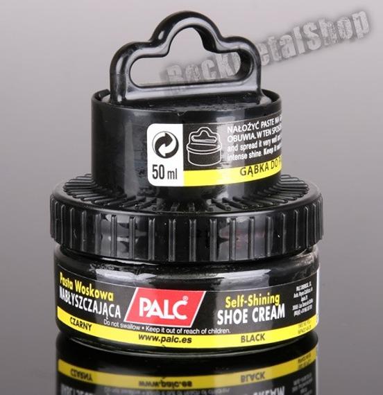 samopołyskowy krem z aplikatorem PALC kolor czarny