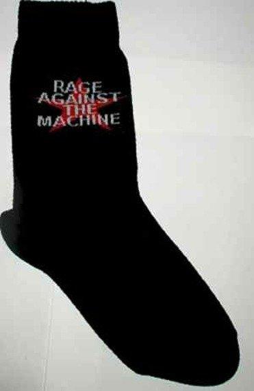 skarpety z nadrukiem RAGE AGAINST THE MACHINE
