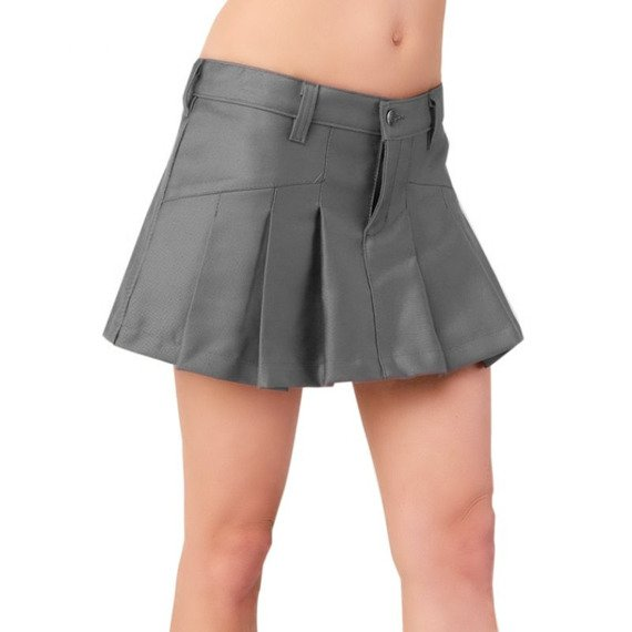 spódniczka BASIC MINI DENIM grey