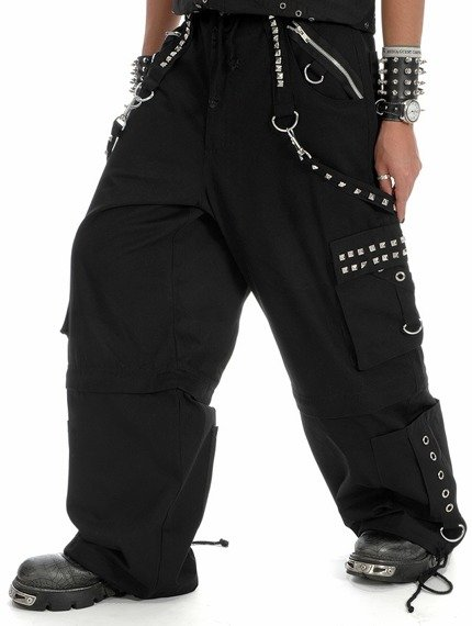 spodnie DEAD THREADS - CHROME STUDS
