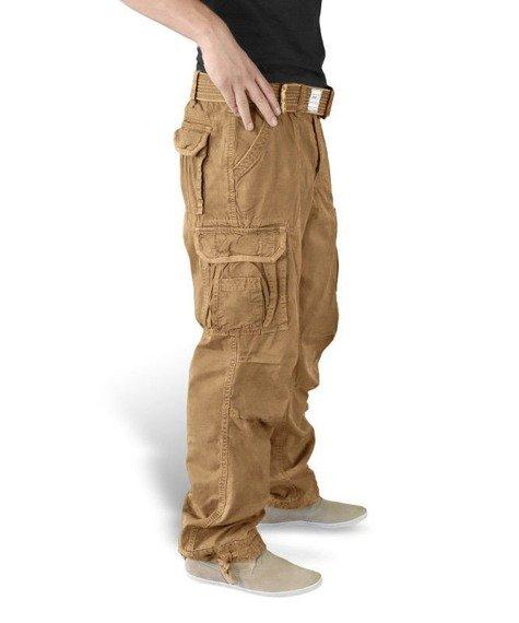 spodnie PREMIUM VINTAGE - BEIGE