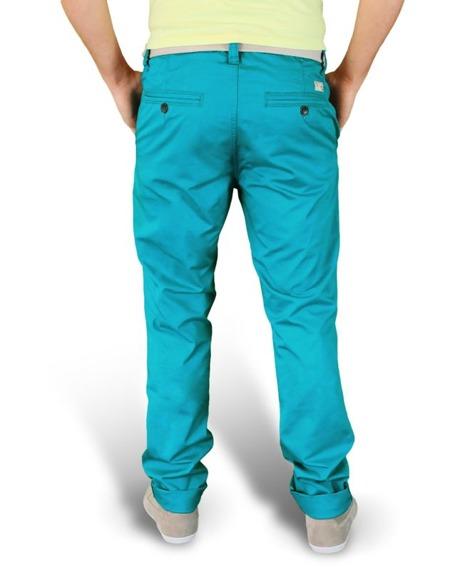 spodnie XYLONTUM CHINO PETROL