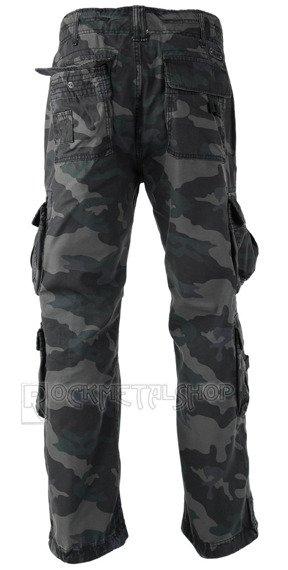 spodnie bojówki PURE VINTAGE darkcamo