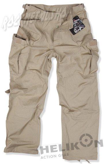 spodnie bojówki SFU TROUSERS COTTON RIPSTOP BEIGE