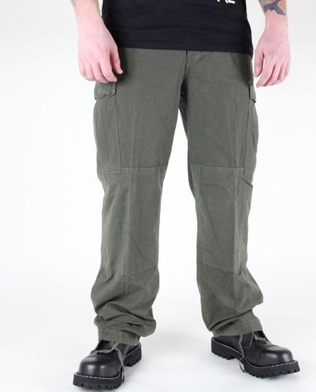 spodnie bojówki US FELDHOSE TYP BDU R/S CO PREWASH OLIV