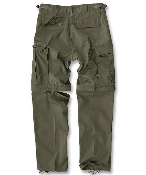 spodnie bojówki ZIP-OFF FELDHOSE TYP BDU OLIVE