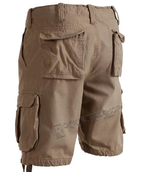 spodnie bojówki krótkie AIRBORNE VINTAGE BEIGE