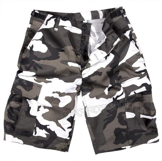 spodnie bojówki krótkie BERMUDA T/C URBAN