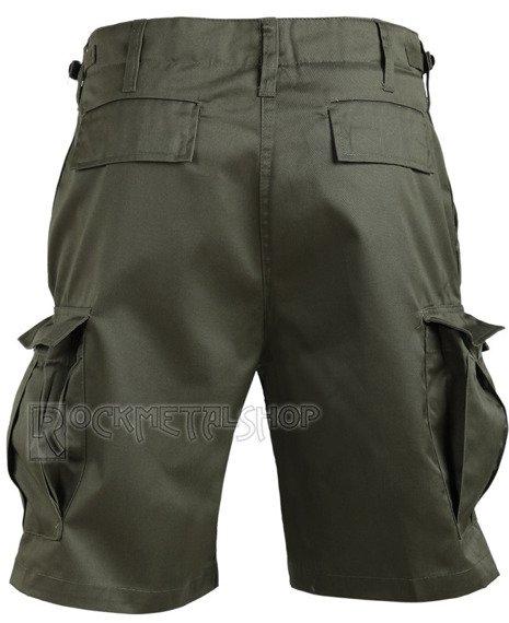 spodnie bojówki krótkie COMBAT SHORTS - OLIV