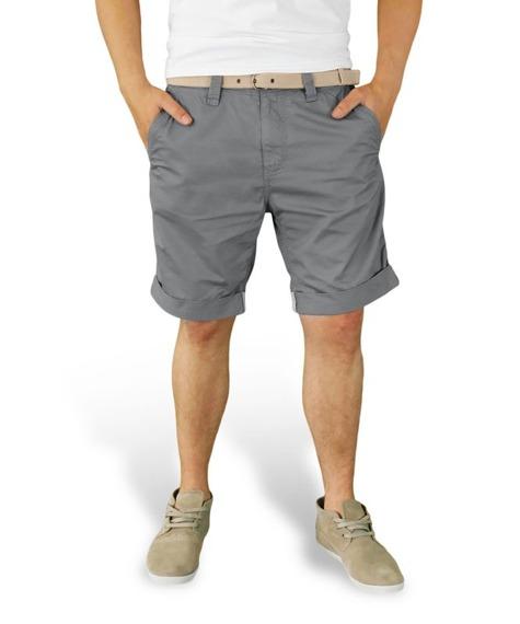 spodnie krótkie XYLONTUM CHINO SHORTS GRAY