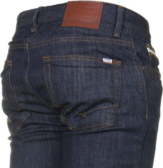 spodnie męskie VANS - V66 SLIM MIDNIGHT INDIGO