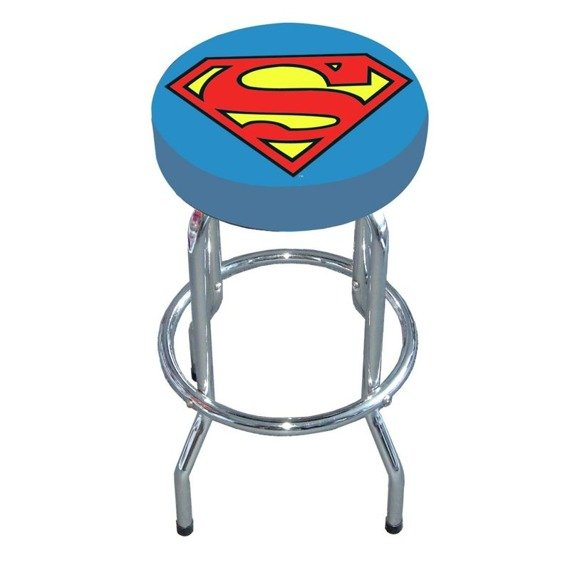 stołek/hoker SUPERMAN - LOGO
