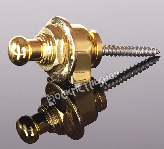 straplock / zaczep do paska BOSTON złocone (komplet 2szt.)