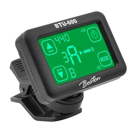stroik z ekranem dotykowym BOSTON BTU-600 chromatyczny, na klips