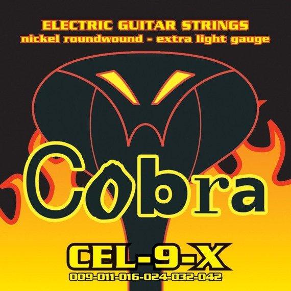 struny do gitary elektrycznej COBRA CEL-9-X NICKEL WOUND /009-042/
