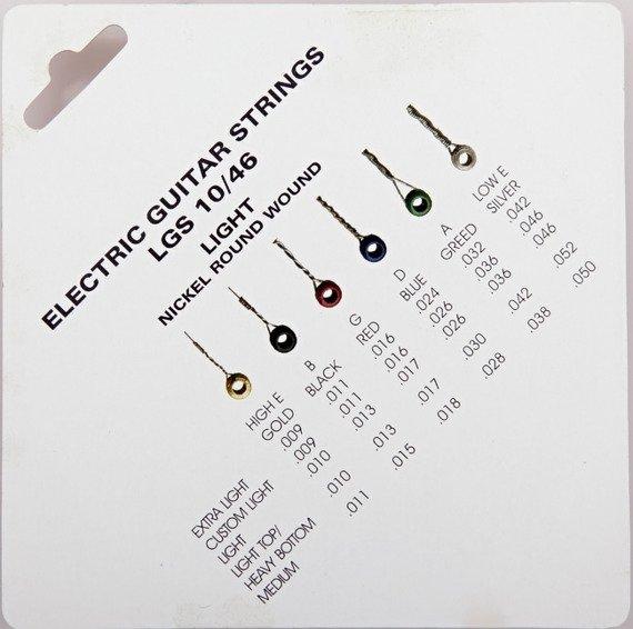 struny do gitary elektrycznej CRAFTMAN NICKEL WOUND LGS /010-046/