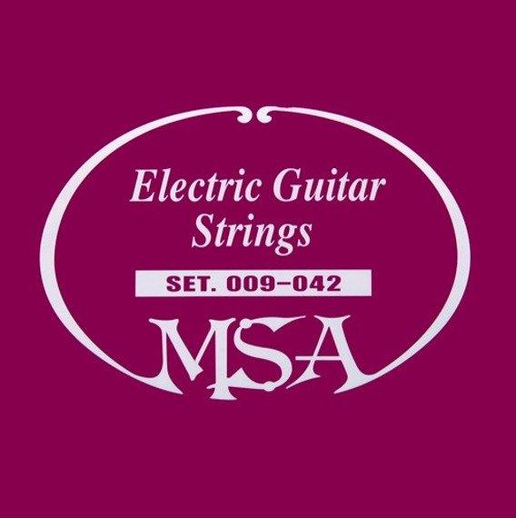 struny do gitary elektrycznej MSA /009 - 042/ (SK 40)