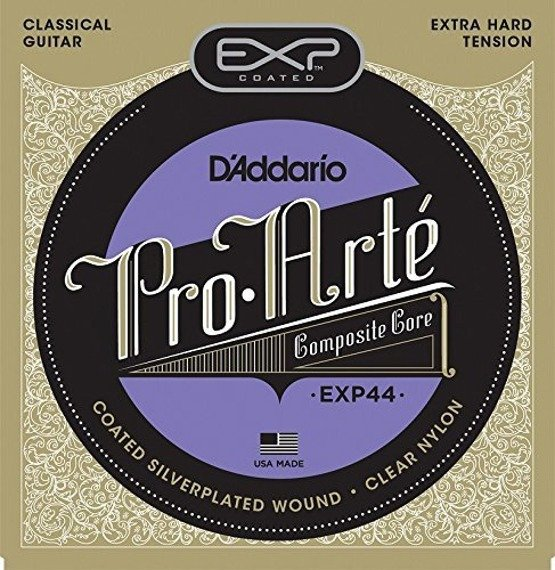 struny do gitary klasycznej D'ADDARIO EXP44 CLASSICAL, Extra Hard /0290-047/
