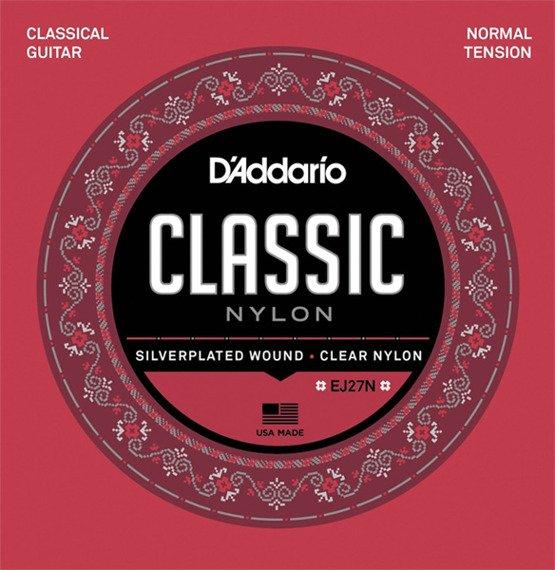 struny do gitary klasycznej D'ADDARIO / NORMAL EJ27N /028-043/