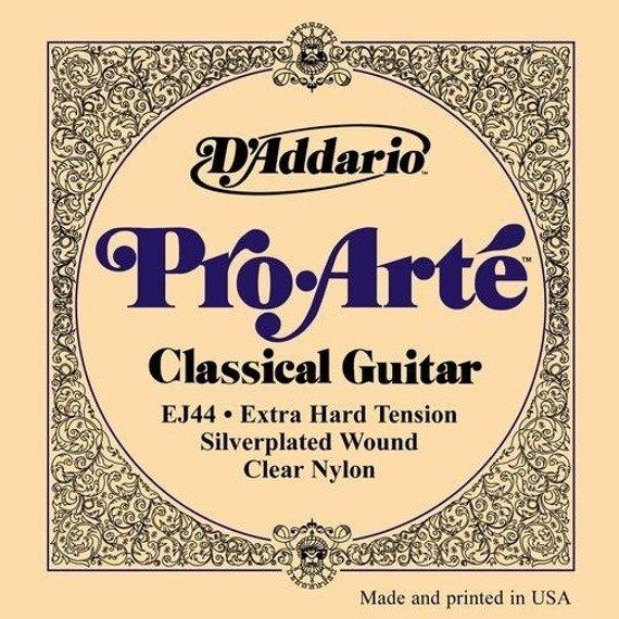 struny do gitary klasycznej D'ADDARIO - PRO ARTE EJ44 Extra Hard