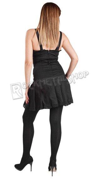 sukienka STRING MINI DRESS DENIM