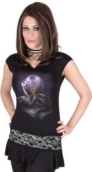 sukienka/top BLACK CAT MAGIC