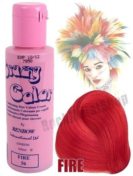 toner do włosów CRAZY COLOR - FIRE [056]