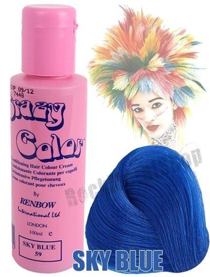 toner do włosów CRAZY COLOR - SKY BLUE [059]